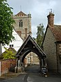 Dorchester Abbey lychgate - geograph.org.uk - 176678.jpg