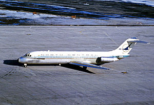 North Central Airlines - North Central DC-9-31 at Toronto's Malton Airport in 1971