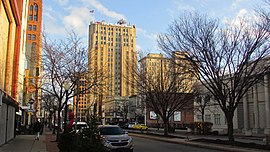 Downtown Youngstown from West Federal Street.