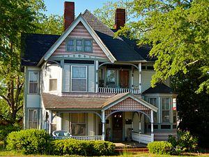 Bowdon, Georgia - Image: Dr. James L. Lovvorn House (Bowdon, GA)