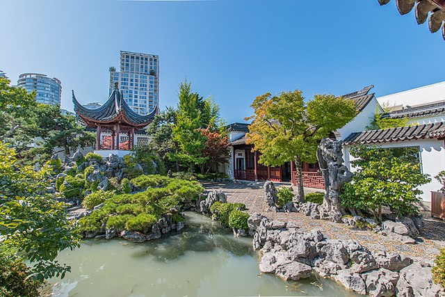 dr sun yat sen chinese gardens, vancouver