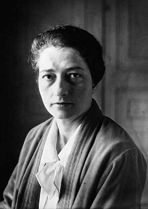 Thérèse Bertrand-Fontaine - Dr. Bertrand-Fontaine in 1930.