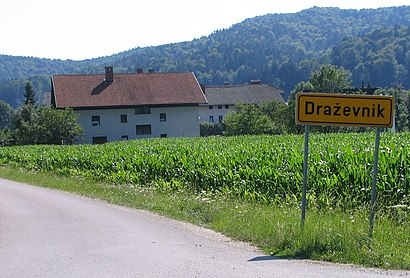 How to get to Draževnik with public transit - About the place
