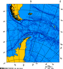 Drake Passage - Lambert Azimuthal projection 0.png