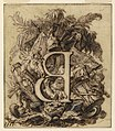 Drawing, Ornamental Design for the Letter B, ca. 1720 (CH 18170601).jpg