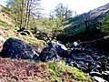 Dried up stream bed and boulders, Dundurn, Loch Earn - geograph.org.uk - 1584619.jpg