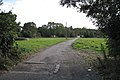 Drive to Leafield Farm from Stratford Road, Warwick - geograph.org.uk - 1520489.jpg