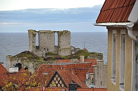 Drottens kyrkoruin Visby.jpg