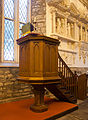 Dublin Cornmarket St. Audoen's Church North Nave Pulpit 2012 09 28.jpg