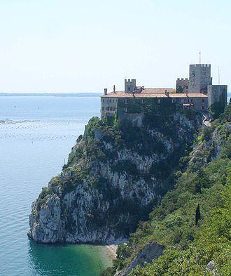 Duino-Aurisina - Image: Duino castle