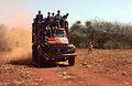 Dump truck loaded with Somali men, 1993.JPEG