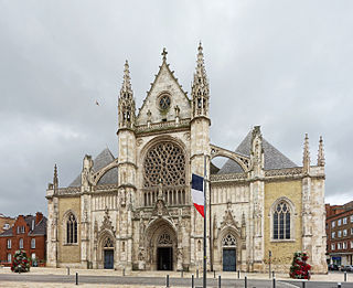 church in Dunkirk, France