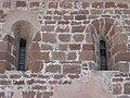 Dvě románská kroužená okna, kostel sv. Jakuba Většího, Stříbrná Skalice.JPG
