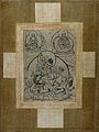 Dzambhala or Dodnevangpo depicted in a cross Wellcome V0046104.jpg