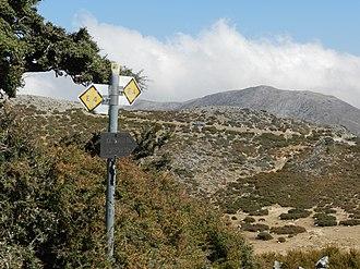 E4 European long distance path - E4 on Crete