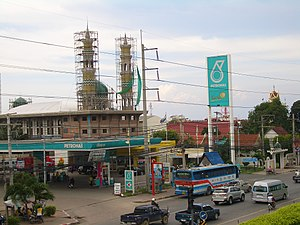 Petronas - A Petronas station seen in Pattaya, Thailand.