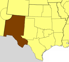 Location of the Diocese of the Rio Grande