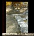 ETH-BIB-Colombier, römische Rollstein-Grundmauer abwärts-Dia 247-13561.tif