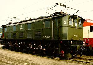 DRG Class E 16 - Image: E 16 09 (08.05.1985)