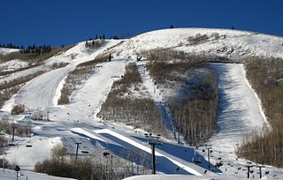 Park City Mountain Resort ski resort in Park City, Utah