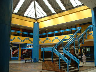 Southampton City Centre - East Street shopping centre's central atrium