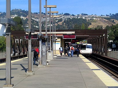How to get to Rockridge BART Station with public transit - About the place