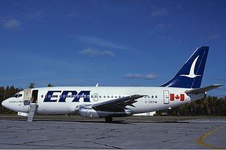 Eastern Provincial Airways - Eastern Provincial Airways Boeing 737-200