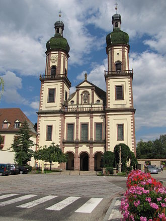 Church of Saint Maurice (Ebersmunster) - Image: Ebersmunster Abbatiale 01