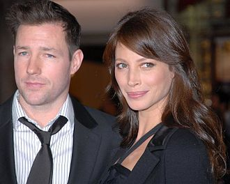 Christy Turlington - Turlington and husband Edward Burns