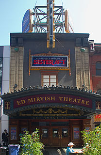 Ed Mirvish Theatre theatre and cinema in Toronto, Ontario, Canada