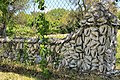Eddingston court conch shell fence.jpg