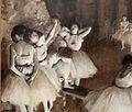 Edgar degas, ripetizione di un balletto sulla scena, 1874, 02.JPG