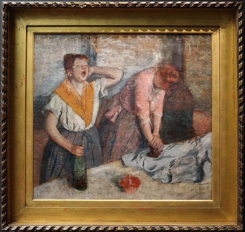 Edgar degas, stiratrici, 1884-86.JPG