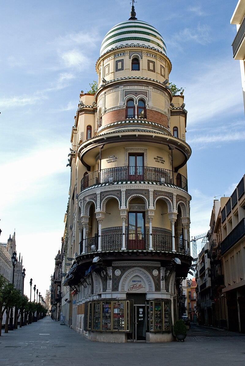 Edificio la Adriática, avenida Constitución