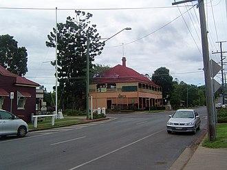 Marburg, Queensland - Intersection of Edmond Street and Queen Street, Marburg, 2011