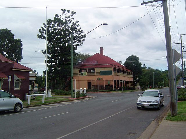 Intersection of Edmond Street and Queen Street, Marburg, 2011