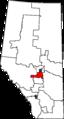 Edmonton–Wetaskiwin 2013 Riding.png