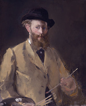 Self-Portrait with Palette (Manet) - Image: Edouard Manet 060