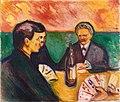 Edvard Munch - Card Players in Elgersburg.jpg