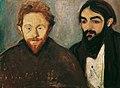 Edvard Munch - Der Maler Paul Herrmann und der Arzt Paul Contard - 3838 - Kunsthistorisches Museum.jpg