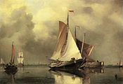 Edward William CookeA Calm Day on the Scheldt.jpeg