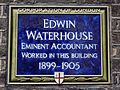 Edwin Waterhouse eminent accountant worked in this building 1899-1905.jpg