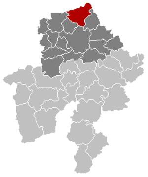 Éghezée - Image: Eghezée Namur Belgium Map