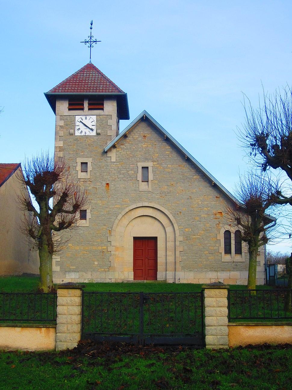Hennemont church
