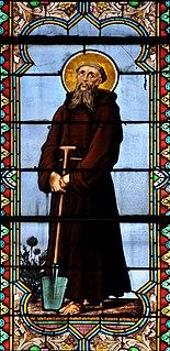 Saint Fiacre Irish saint