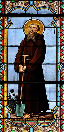 Eglise Notre-Dame Bar-le-Duc Vitrail Saint Fiacre 30 04 2012.jpg