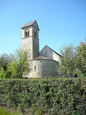 Avrée - The church of Sainte-Madeleine, in Avrée