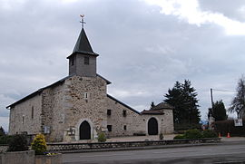 The church in Ornex