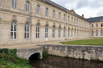 Le Bec-Hellouin - Image: Eglise de l'abbaye Notre Dame du Bec DSC