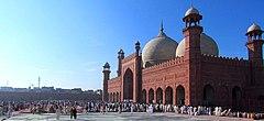 Eid-gebeden in de Badshahi-moskee.JPG
